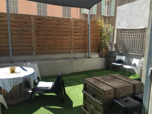 Le Mourillon Appartement -Terrasse