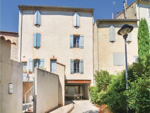 One-Bedroom Apartment in Uzes : Appartement proche d'Arpaillargues-et-Aureillac