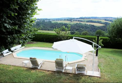 Holiday home Chemin du Verdier : Hebergement proche de Campouriez