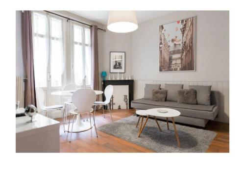 Le Chanzy : Appartement proche de Meulers