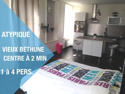 Appartement Béthune Centre à 300m : Appartement proche de Haverskerque
