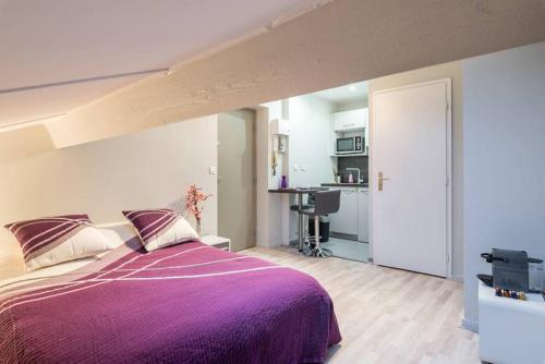 Studio cosy Monplaisir : Appartement proche de Saint-Priest