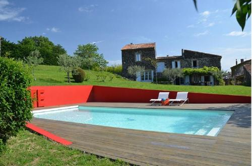 Holiday home Les Chaix : Hebergement proche de Saint-Julien-en-Saint-Alban