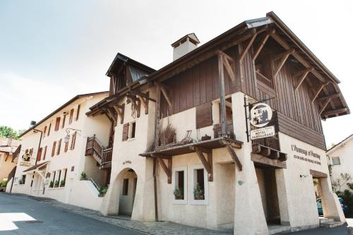 Auberge d'Anthy : Hotel proche d'Orcier