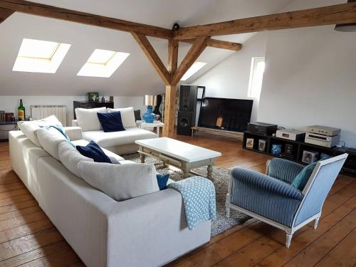 The White Loft : Appartement proche de Lutterbach