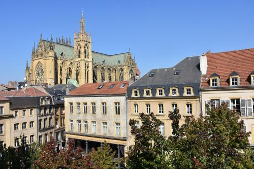 grand appartement vue cathedrale : Appartement proche de Woippy