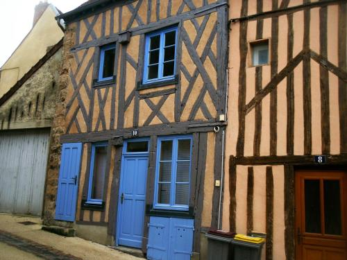 La maison bleue : Appartement proche de Bercenay-le-Hayer