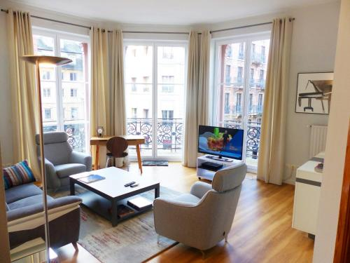 Bleu Mésange - 2 Bedrooms and 2 Bathrooms : Appartement proche de Strasbourg