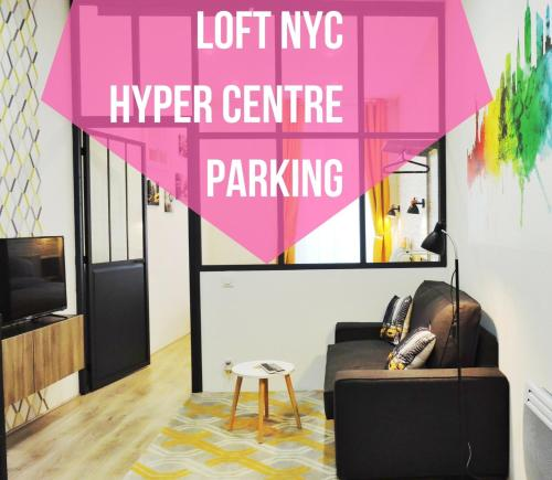 Loft NYC, Hyper centre, Parking : Appartement proche de Nantes