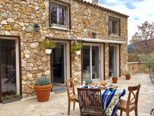 Le Carros - House with terrace : Hebergement proche de Saint-Martin-du-Var