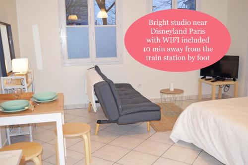 Appartement proche Disney : Appartement proche de Bussy-Saint-Georges