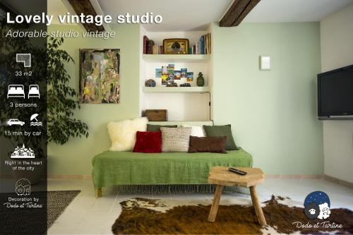 Appartement Studio Vintage - Dodo et Tartine