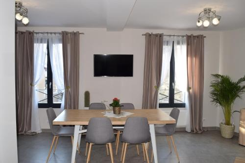 Appartement duplex neuf centre ville : Appartement proche de Bullion