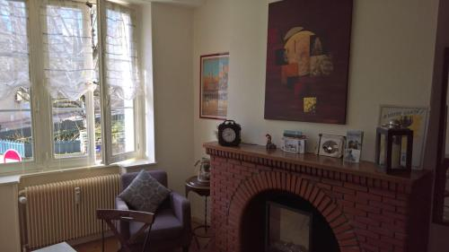 L'authentique : Appartement proche de Mavilly-Mandelot