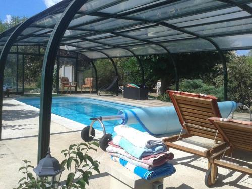 Holiday home Rue Chabrol : Hebergement proche d'Anduze