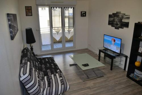 Le Spartiate : Appartement proche de Thibie