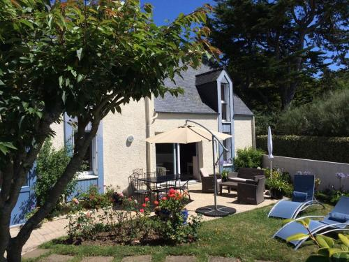 Holiday home Route de Kerlerdut : Hebergement proche de Plouguin
