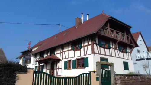 gîte rural la bergerie : Appartement proche de Wickersheim-Wilshausen