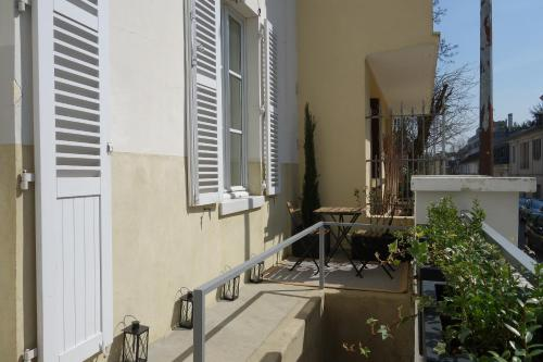La Terrasse de Mademoiselle : Appartement proche de La Celle-Saint-Cloud