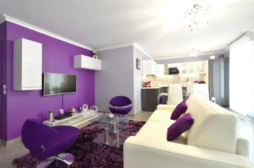 Photo Luxury Paris purple