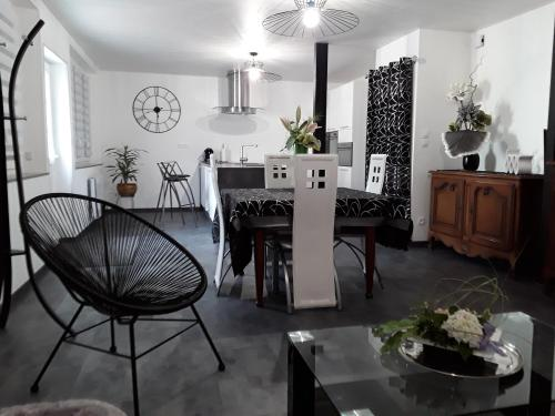 Le Loft De Teddy : Appartement proche de Saint-Denis-les-Ponts