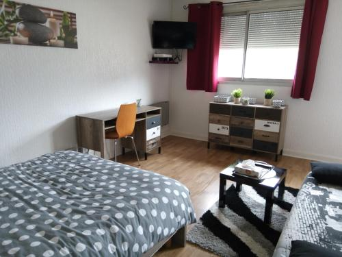 Centre ville-Parking-Wifi : Appartement proche de Varennes-Vauzelles