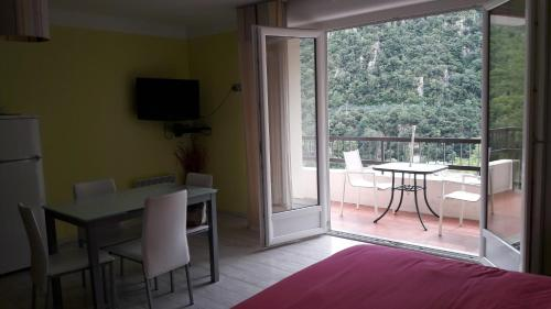 Appartement Studio couleur gai