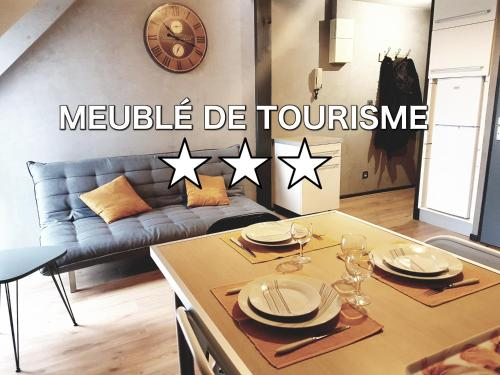 Appartement cosy Lorient centre Parking prive