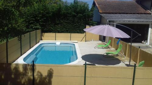 Holiday home Jouanhaut : Hebergement proche de Saint-Paul-de-Baïse