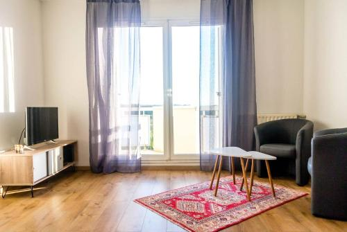 Top of the Rebberg (Mulhouse) – 2BR near the Zoo : Appartement proche d'Obermorschwiller
