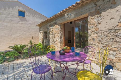 Gorgeous country house in stone - Dodo et Tartine : Hebergement proche de La Garde