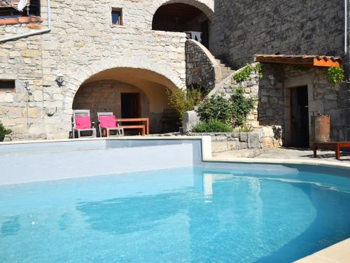 Holiday home Lanas A : Appartement proche d'Uzer