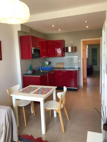 Appartement ultra cosy front de mer : Appartement proche de Larmor-Plage