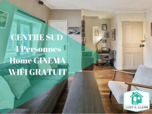 LE TIVOLI ★ COSY & CLEAN ★ : Appartement proche de Couchey