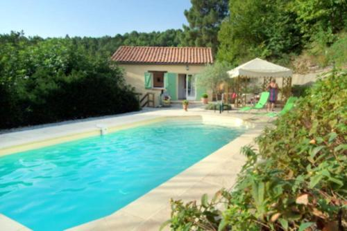 Holiday rental villa private pool in the heart of the Cevennes - Gard - South of France : Hebergement proche de Les Salles-du-Gardon