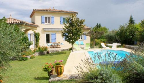 Holiday villa with private pool in the Cevennes, South of France : Hebergement proche de Logrian-Florian