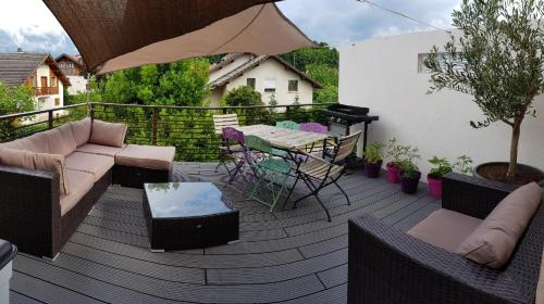 charmant appartement terrasse exposee plein sud