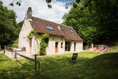 Holiday home Le Vaugarnier : Hebergement proche de La Chapelle-Gaugain