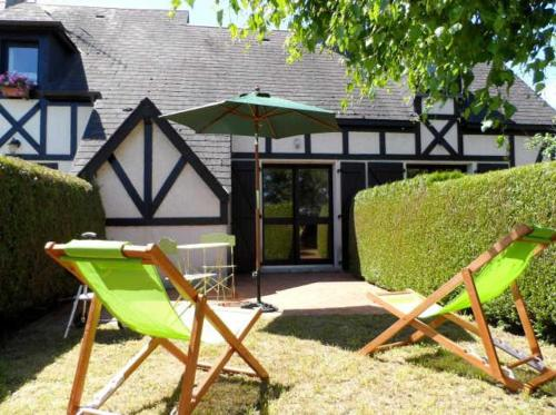 Appartement Cabourg - Cottage 2 Pieces - Vue jardin
