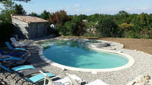 Holiday home Place des Teyssiers 2 : Appartement proche de Sampzon