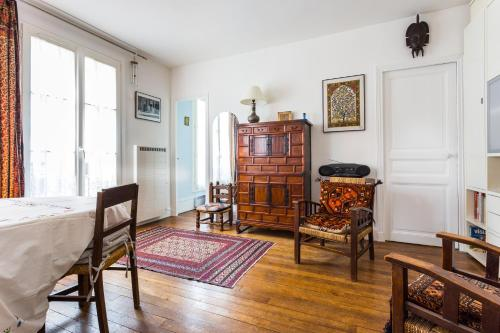 Appartement Cool flat for 3 near Buttes-Chaumont
