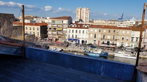 Appartement SETE vue canal, duplex 7 couchages !