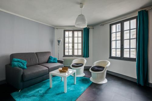 Le Carrel Saint Marc : Appartement proche de Saint-Aubin-Celloville