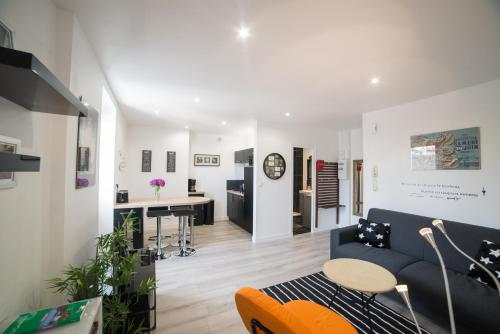 Appartement T2 de charme hyper centre,parking prive