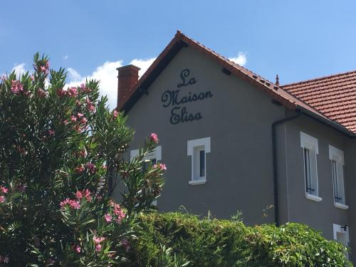 La Maison Elisa : Appartement proche de Saint-Pierre-de-Curtille
