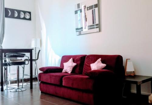 Appartement Coquet Studio cote Saone