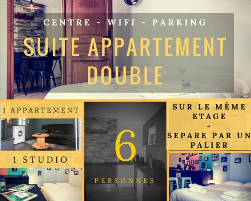 SUITE APPARTEMENT DOUBLE - Topdestination-Dijon