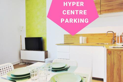 Big Garden***, Hyper Centre, Parking : Appartement proche de Nantes