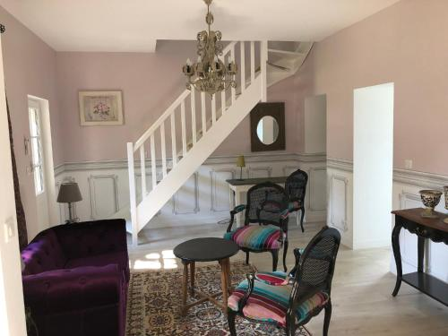 Cottage Parc Duplex of 70 m² for 2 people – 1 bedroom – 2 bathrooms – : Hebergement proche de Saint-Épain