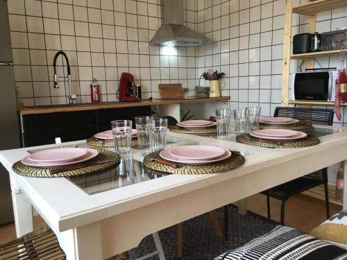 Le Romantic : Appartement proche de Millebosc
